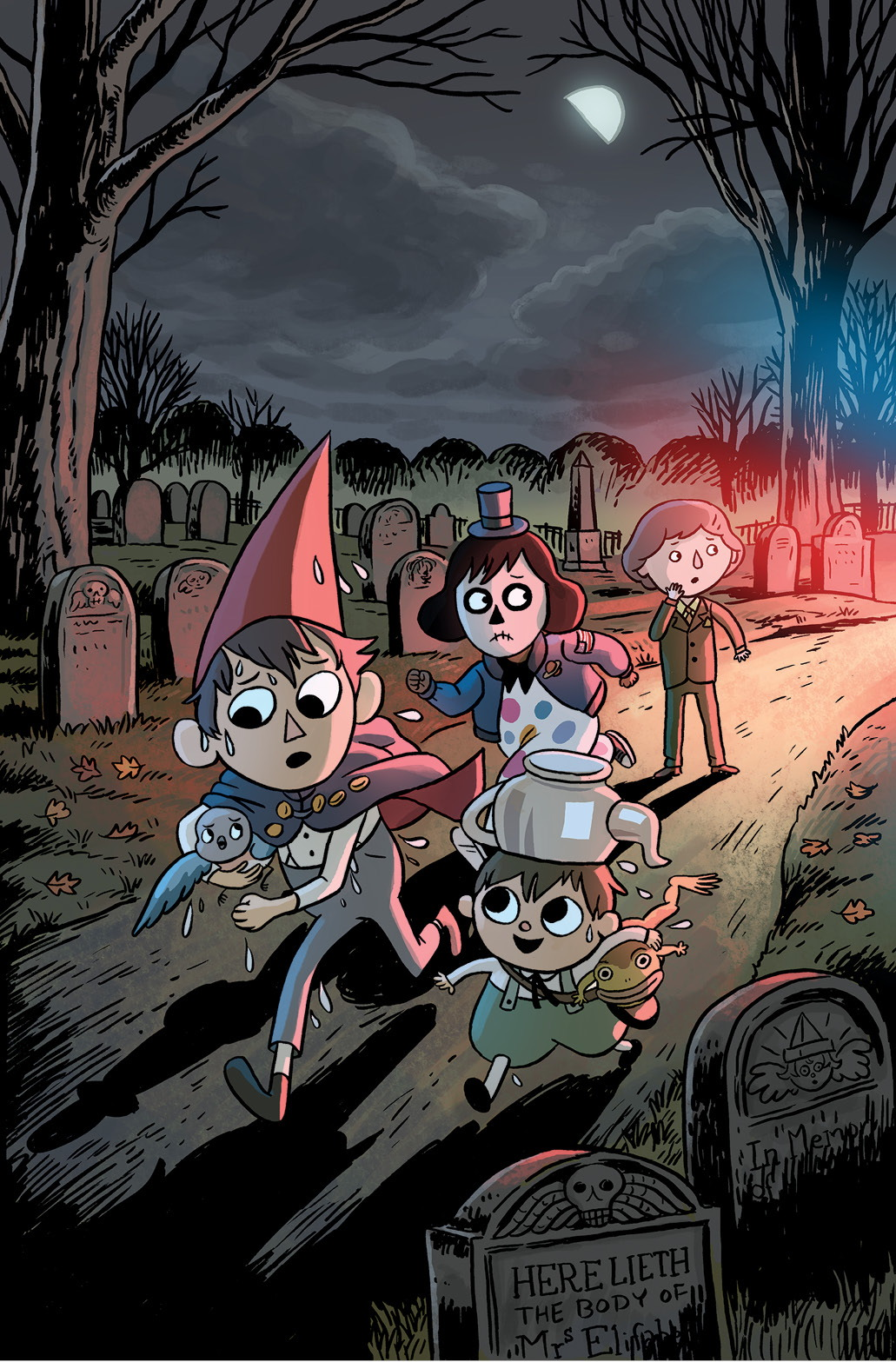 Over The Garden Wall Returns With Distillatoria Graphic Novel This November The Beat