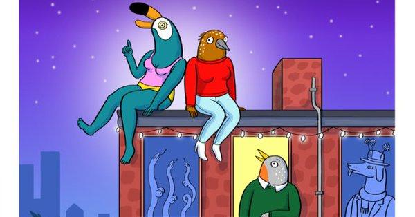 New Netflix Animated Series TUCA AND BERTIE To Star Tiffany Haddish