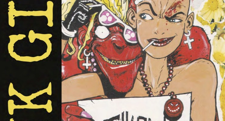Classic Tank Girl Comics Go Full Color Today