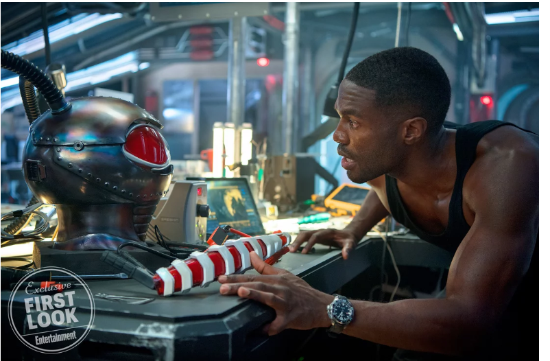 Aquaman: First look at Black Manta surfaces