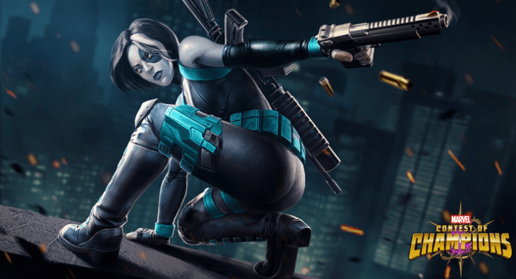 Domino Joins Marvel Contest of Champions!