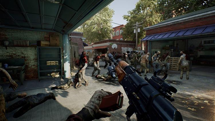 OVERKILL's The Walking Dead Screens Show the Walking Dead