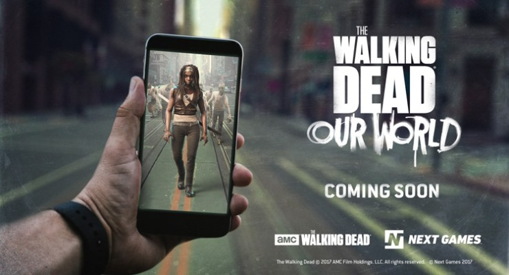 The Walking Dead Gets Its Pokemon Go On In July