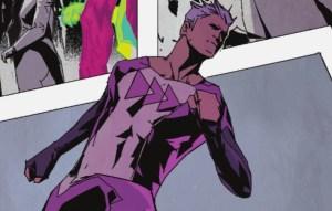Quicksilver has a new costume