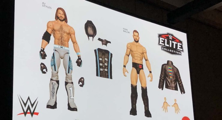 SDCC '18: WWE Debuts New Elite Collection Figures at Mattel's WWE panel