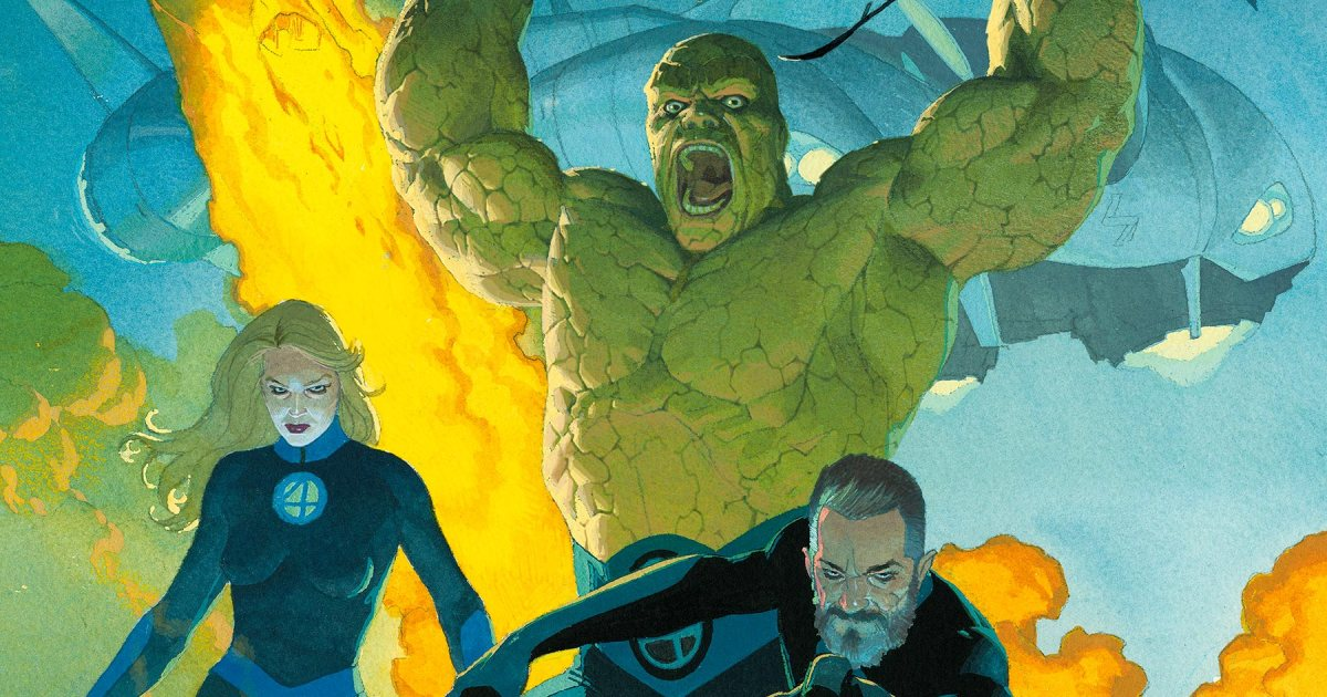 Fantastic Four #1Comic Con Exclusive CR: Marvel Entertainment