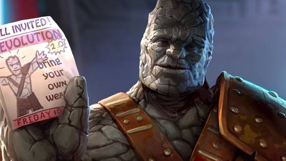 Taika Waititi Voices Korg Again in a New Marvel Contest of Champions Video