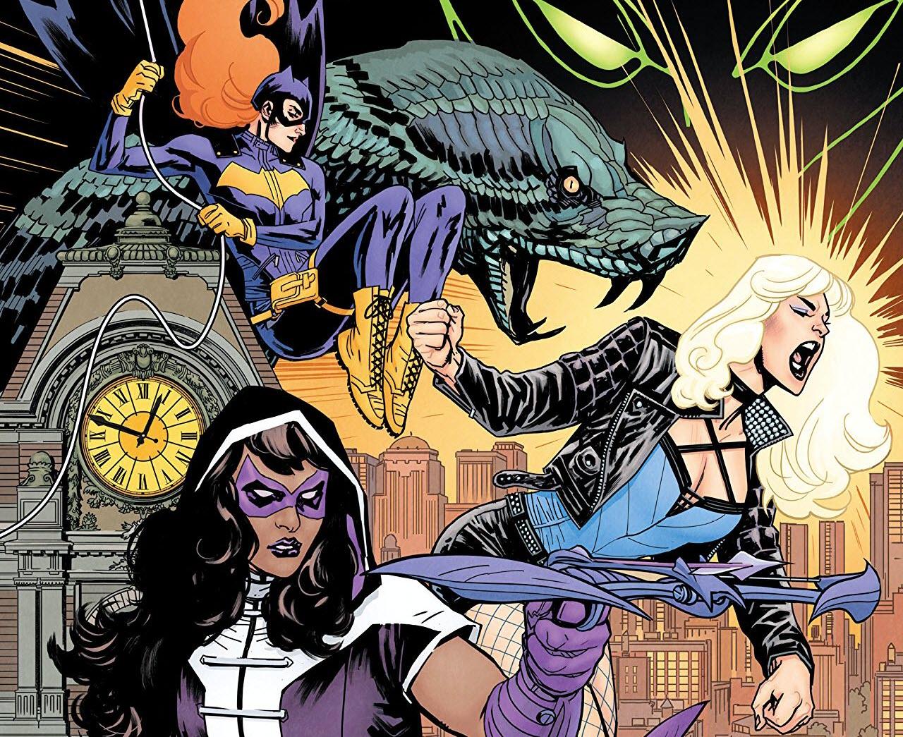 Birds Of Prey Casts Huntress & Black Canary
