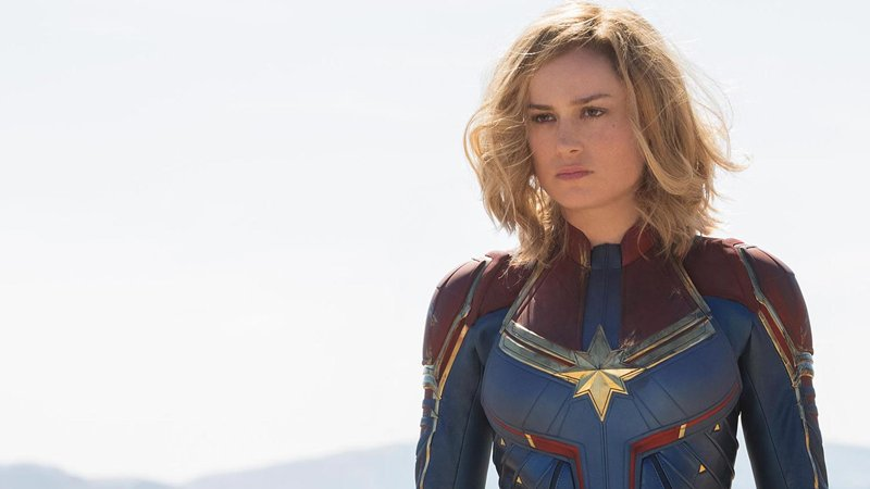 First Captain Marvel Trailer Delivers Cosmic Action And Earthbound Mystery