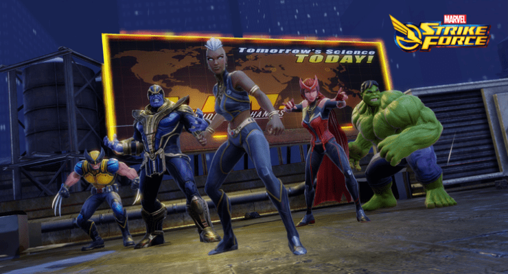 Storm Comes to Marvel Strike Force Mobile Game
