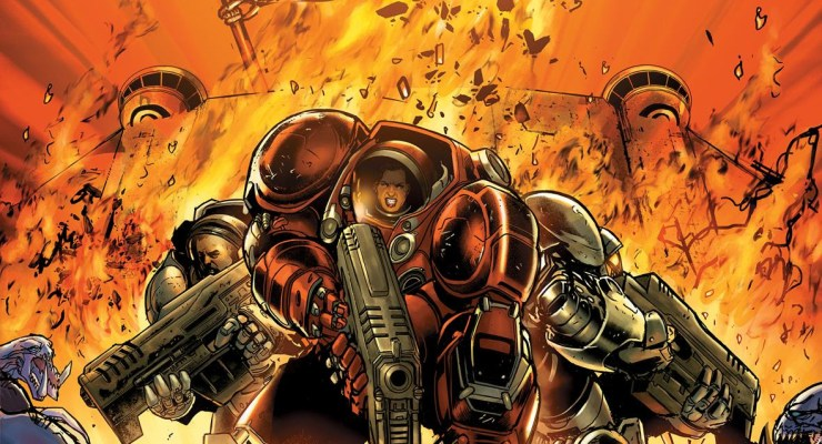NYCC'18: Dark Horse Teams With Blizzard to Bring More StarCraft to Comics