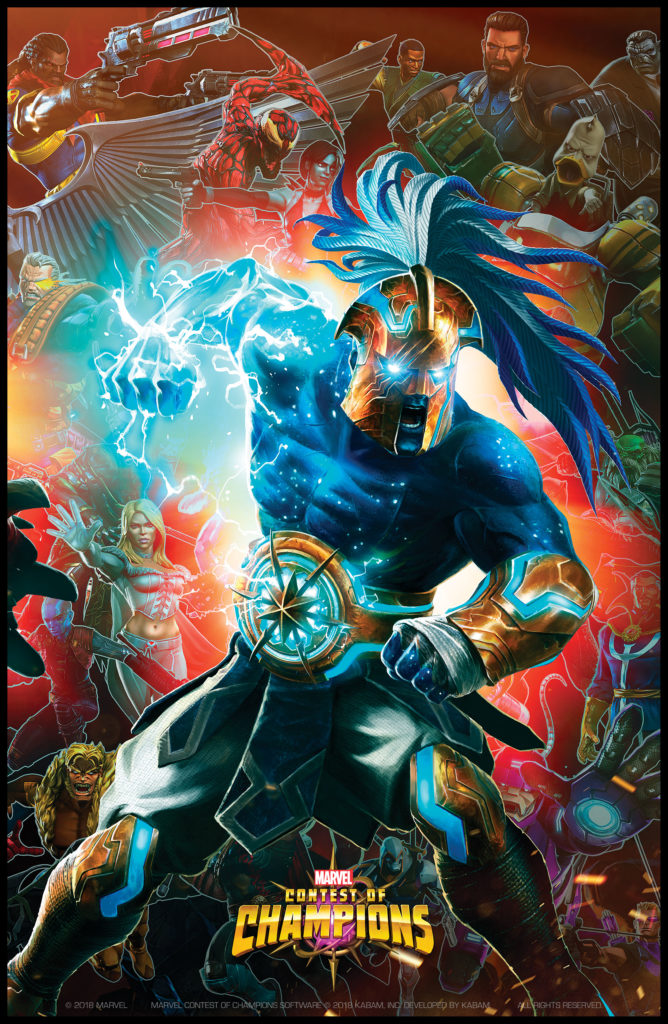 NYCC '18 - Marvel Contest of Champions' Real Grandmaster, Gabriel
