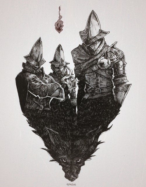 Estevao_PB_Inktober_Dark_Souls_III