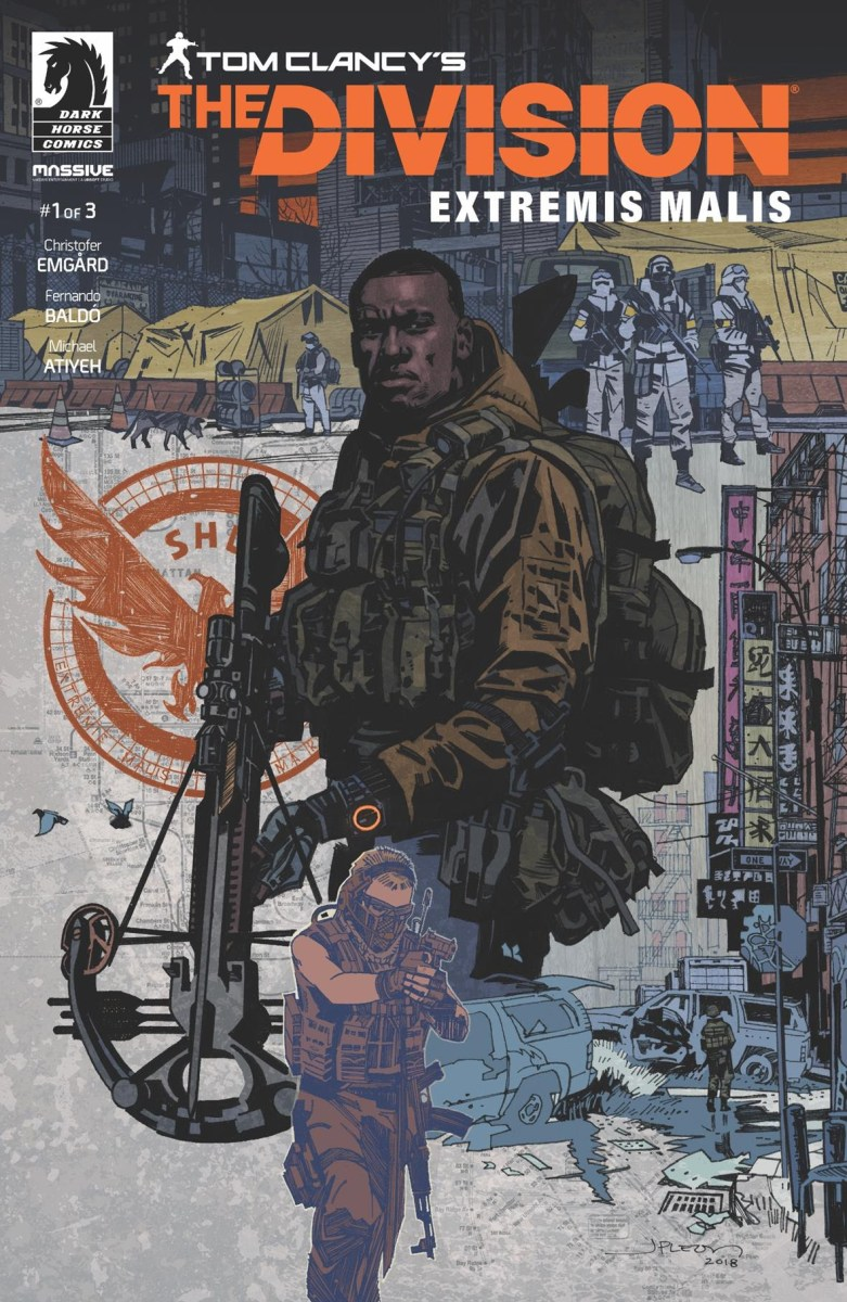 This is what Dark Horse's Post Apocalyptic Story of TOM CLANCY'S THE DIVISION Will Be.