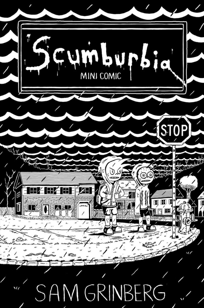 Sam Grinberg-Scumburbia Mini Comic Cover.jpg