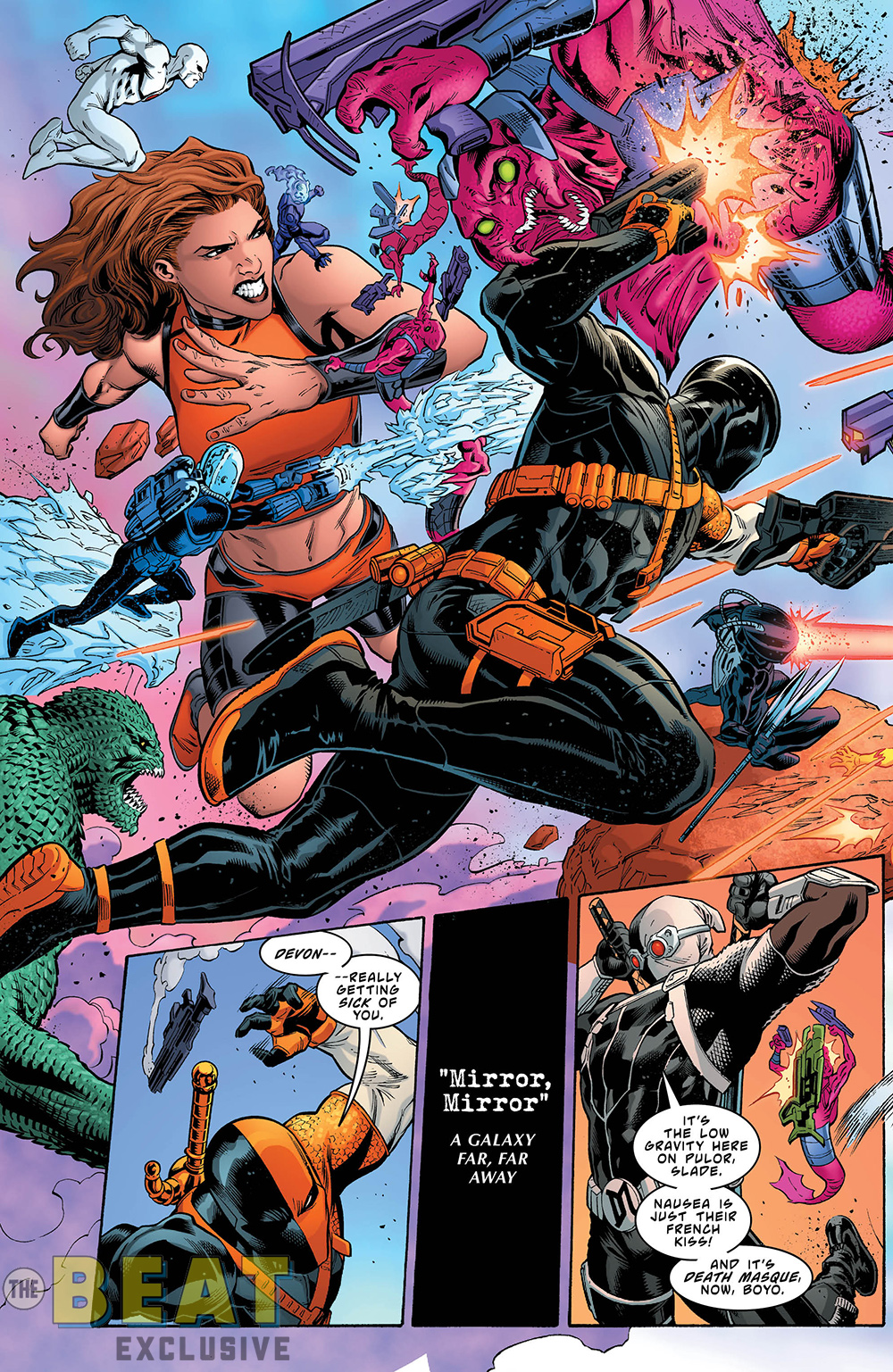 EXCLUSIVE PREVIEW: In DEATHSTROKE #39, Slade Recruits the ...