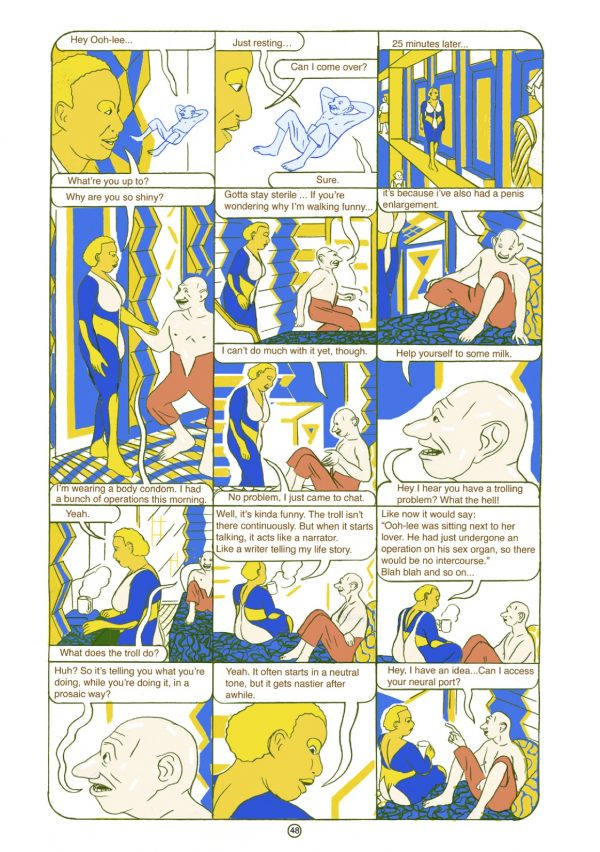 Coming Kids Olivier.Review Crisis On Infinite Comics Pages In Olivier Schrauwen S
