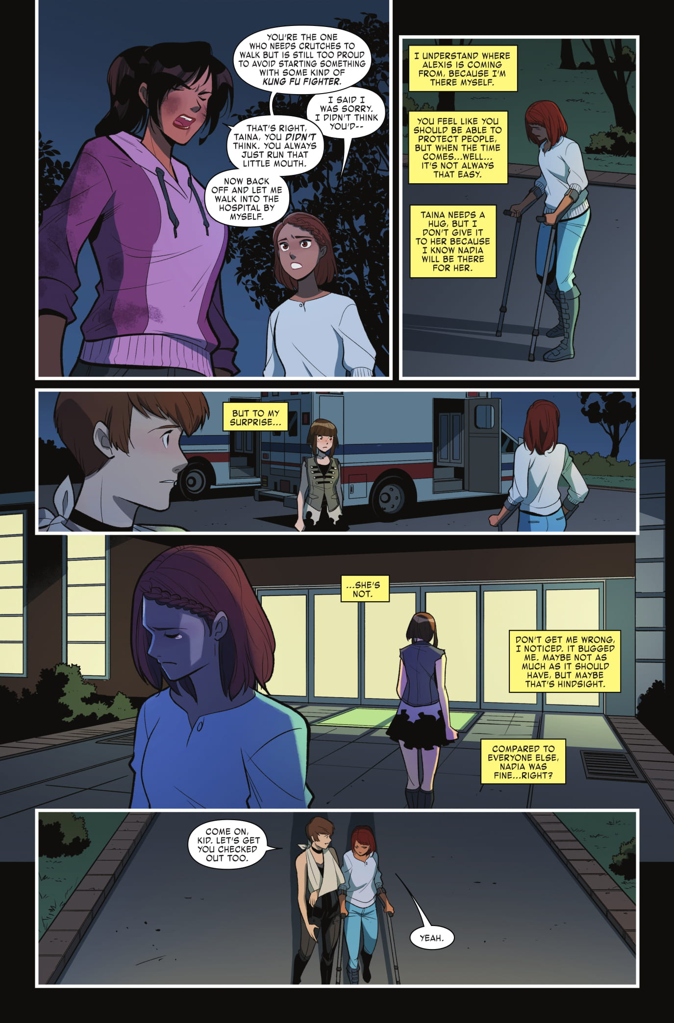 Unstoppable Wasp #4 Page 2