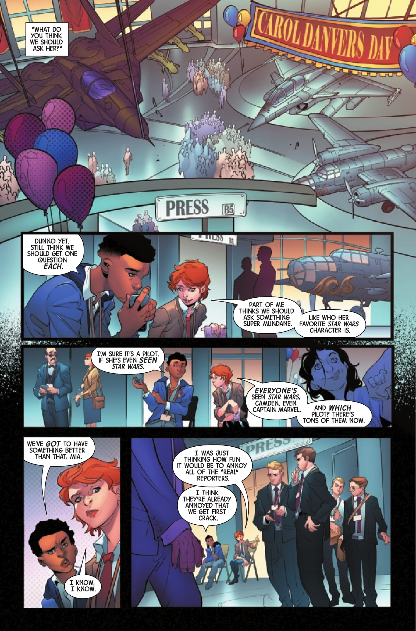 Captain Marvel: Braver & Mightier page 4