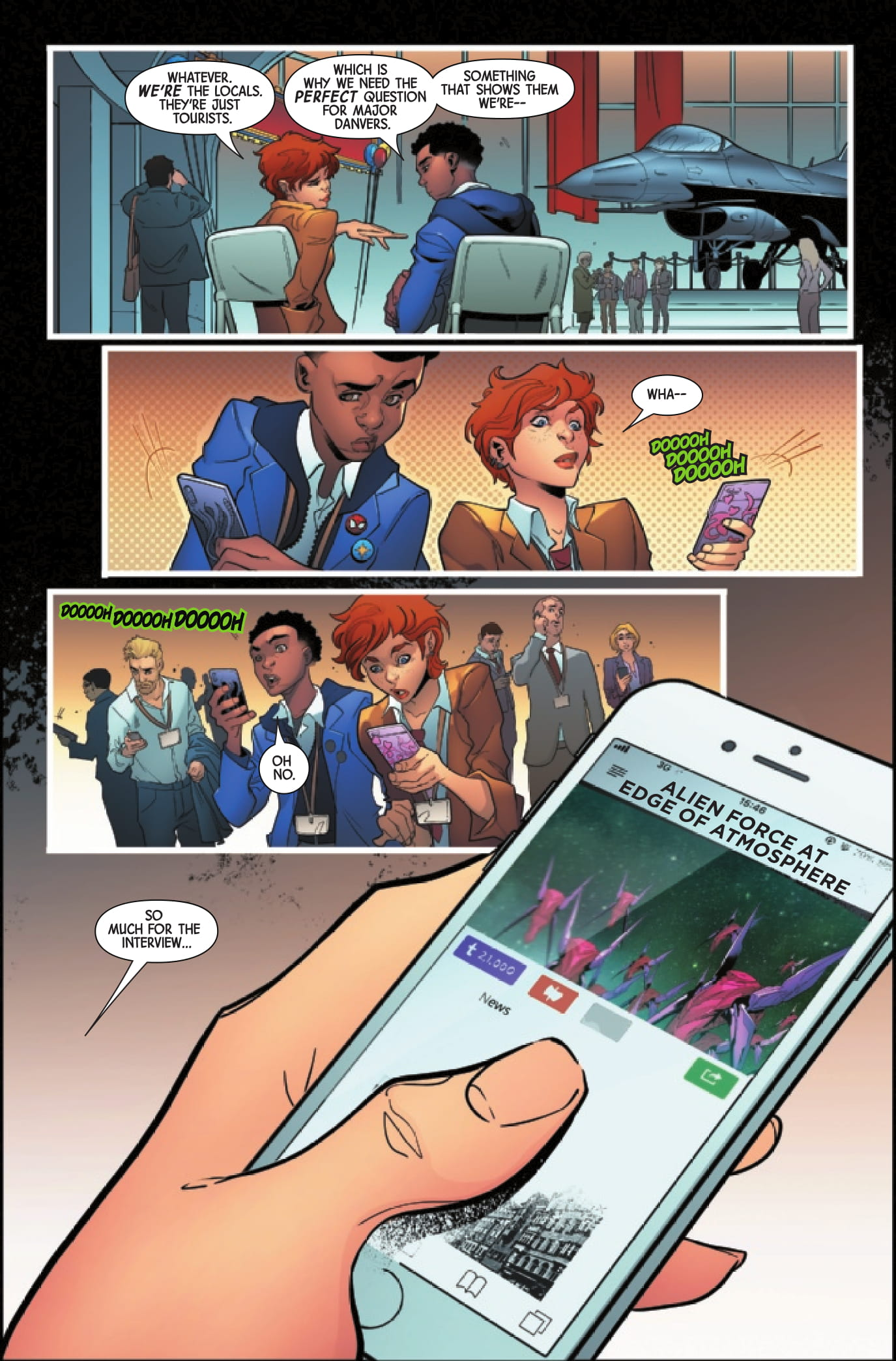 Captain Marvel: Braver & Mightier page 5