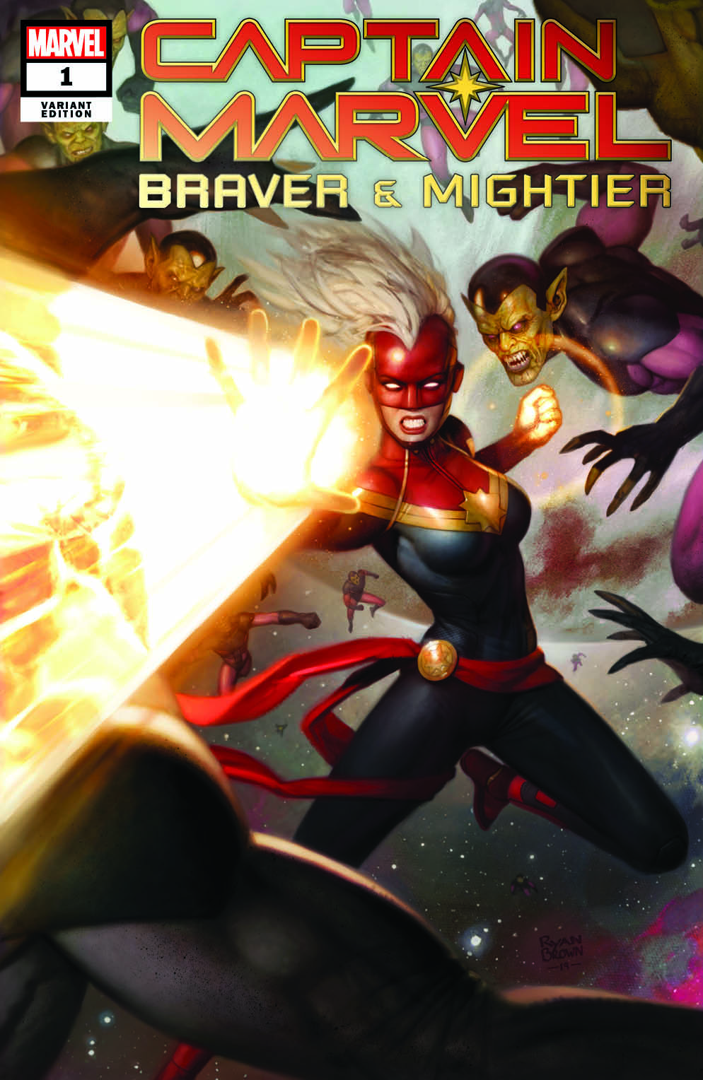 marvel and ebay team for exclusive captain marvel: braver
