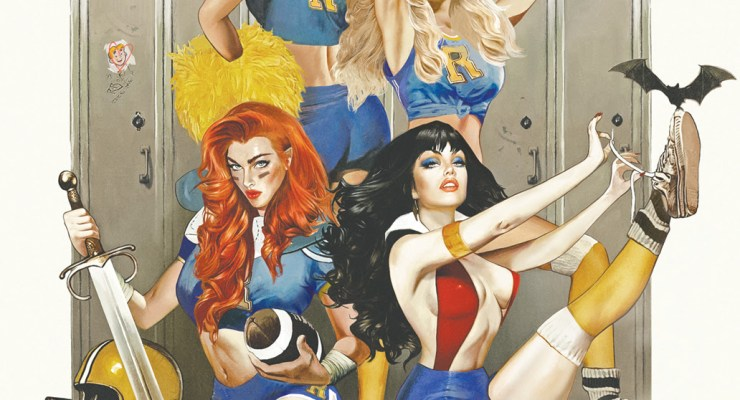 The Gals of Riverdale Meet Red Sonja and Vampirella in Dynamite's Latest Crossover Event