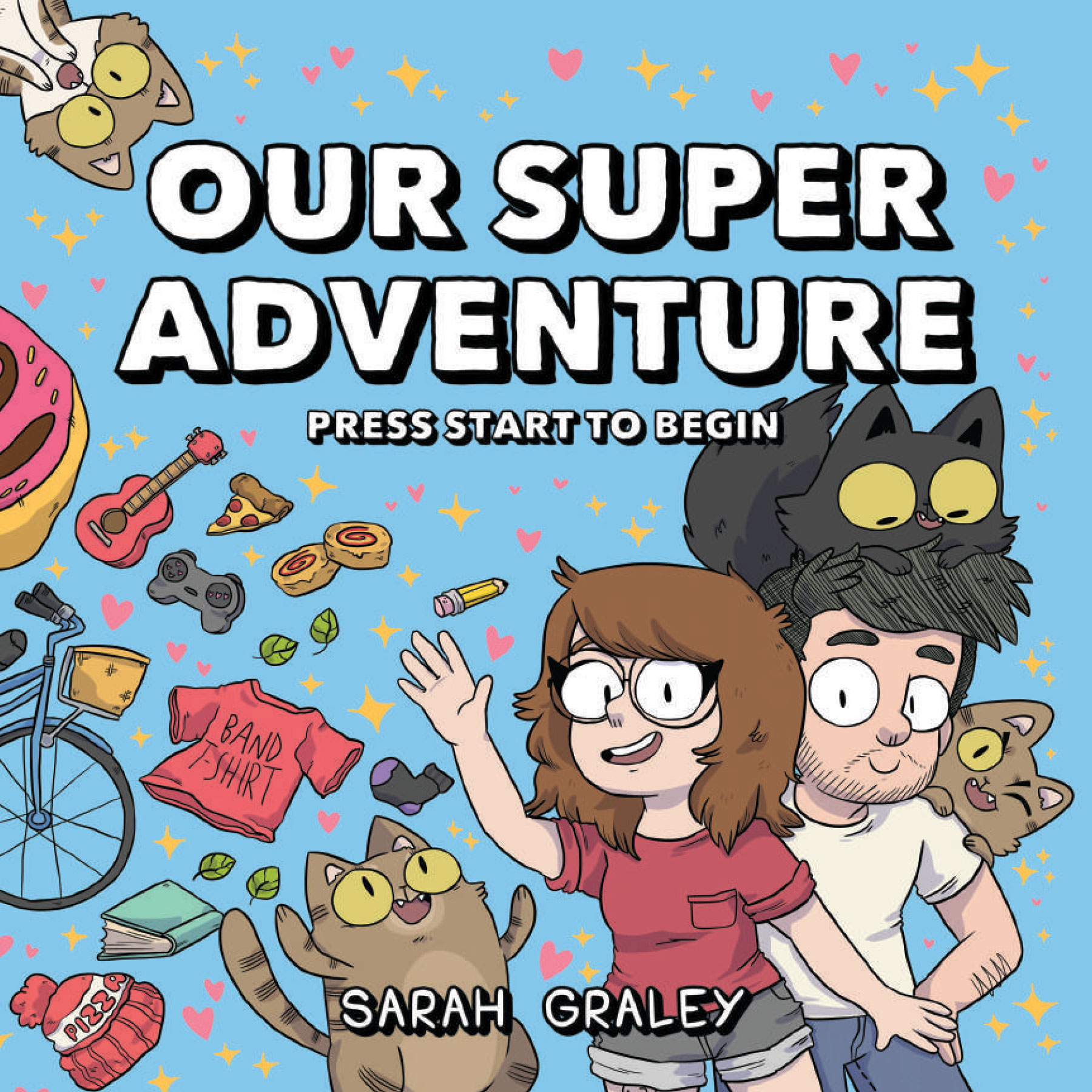 Our Super Adventure: Press Start to Begin cover