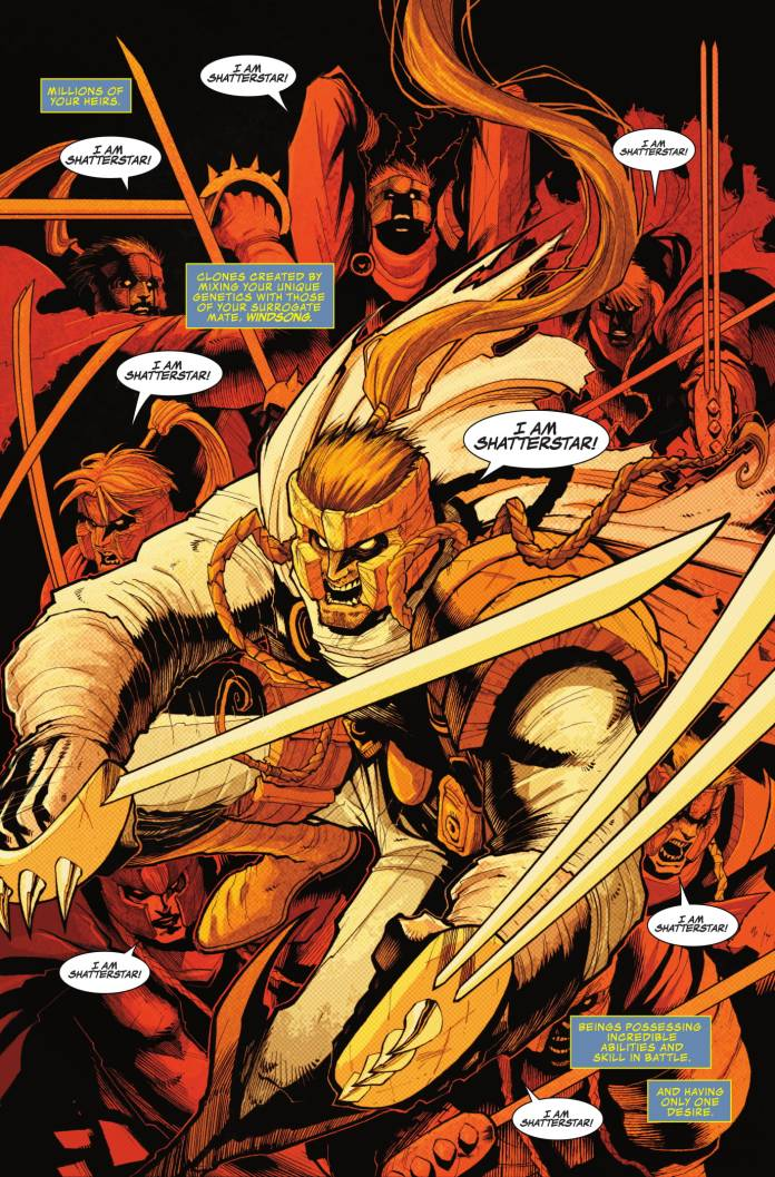 Shatterstar #5 page 1