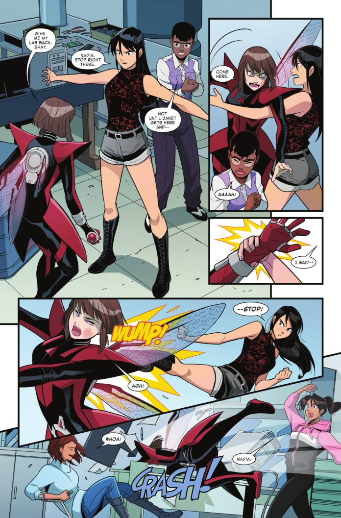 Unstoppable Wasp #5 page 3