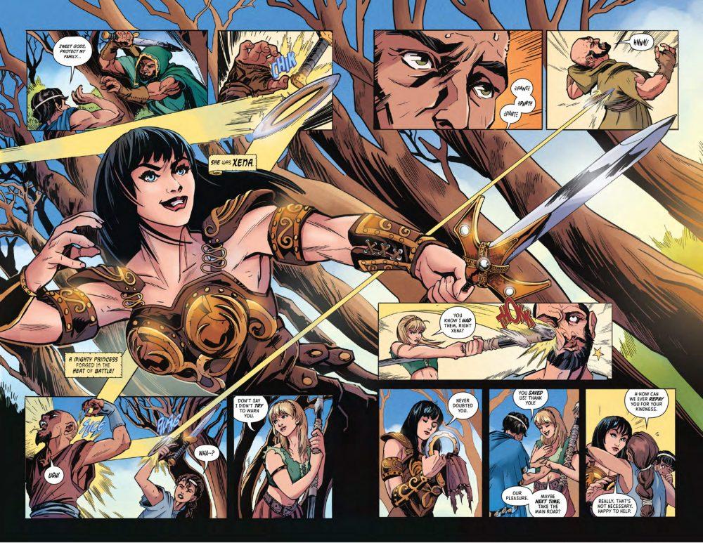 Wat ook leuk is, is om een aantal acteurs van Xena en Hercules te herkennen.