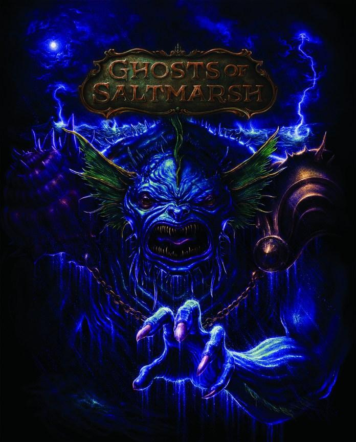 GHOST OF SALTMARSH alt cover by N.C. Winters