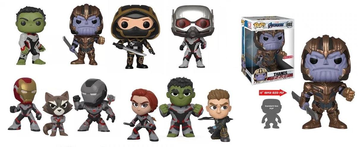 Hulk Vs Thanos Round 2 And More In Funko S Avengers Endgame Toys