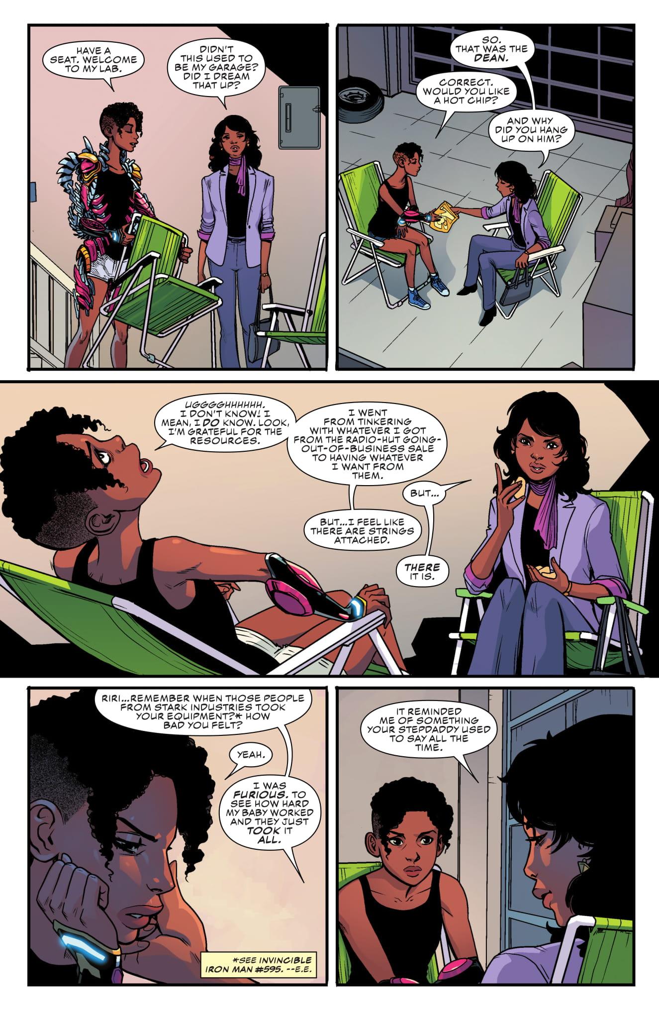 Ironheart #4 page 3