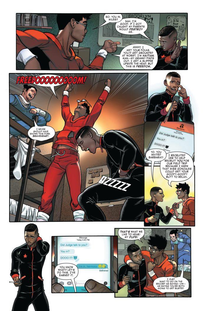 Miles Morales: Spider-Man #4 page 3