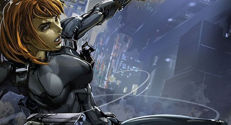 EXCLUSIVE PREVIEW: In BLACK WIDOW #3, Natasha Strings Up Madame Masque
