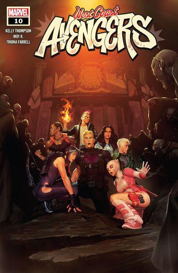 West Coast Avengers #10 - Marvel Review