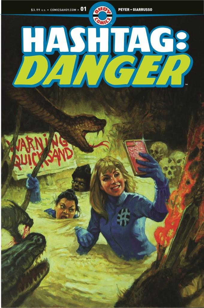 Hashtag Danger #1 Cover