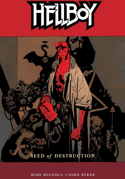 Hellboy cover