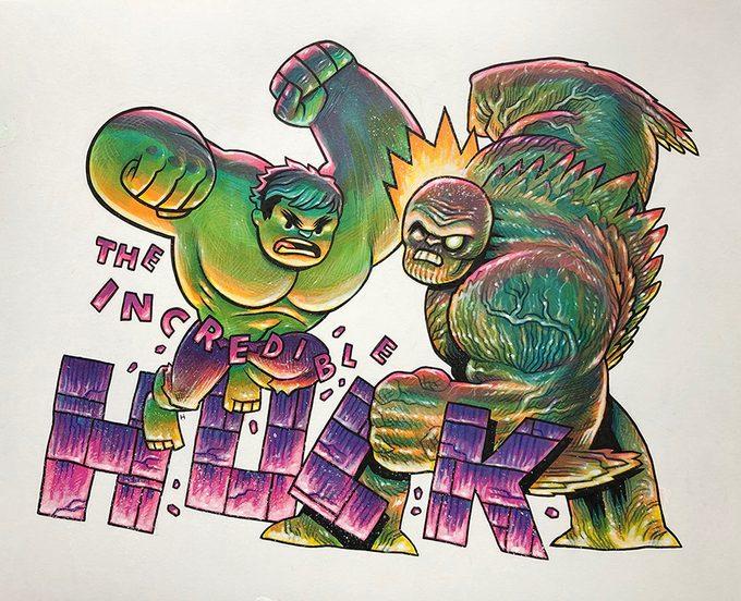MCU Fan Art Dan Hipp 3