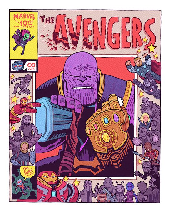 MCU Fan Art Dan Hipp 20