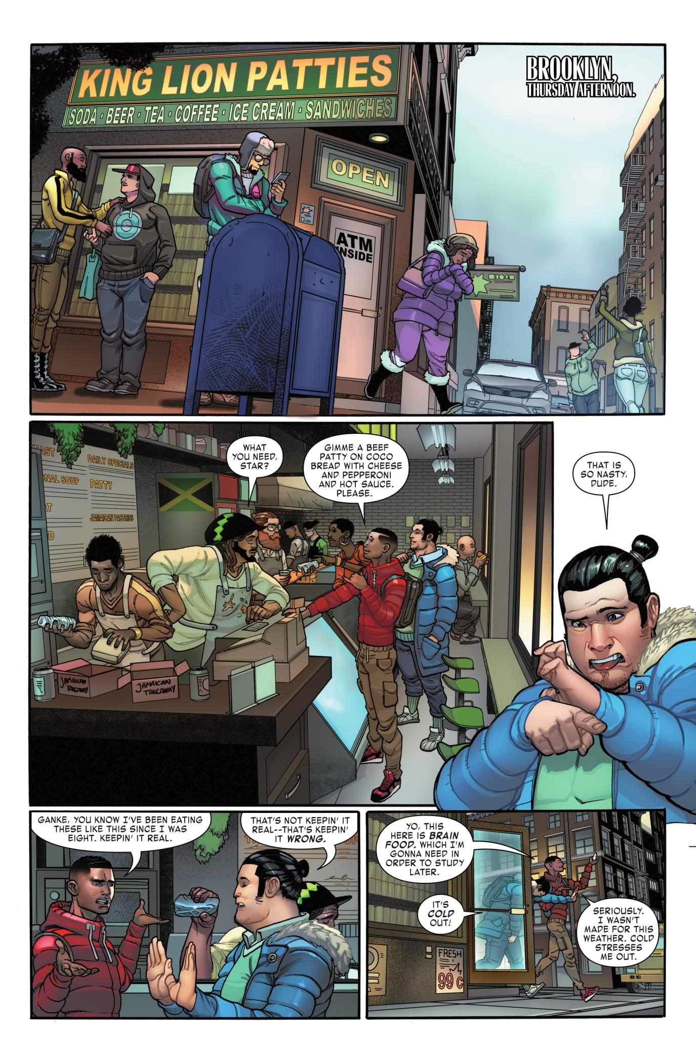 Miles Morales: Spider-Man #5 page 1