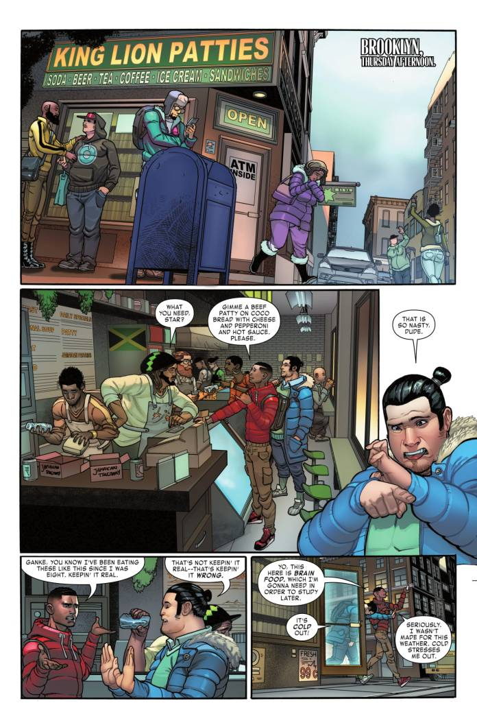 Miles Morales: Spider-Man #5 page 1