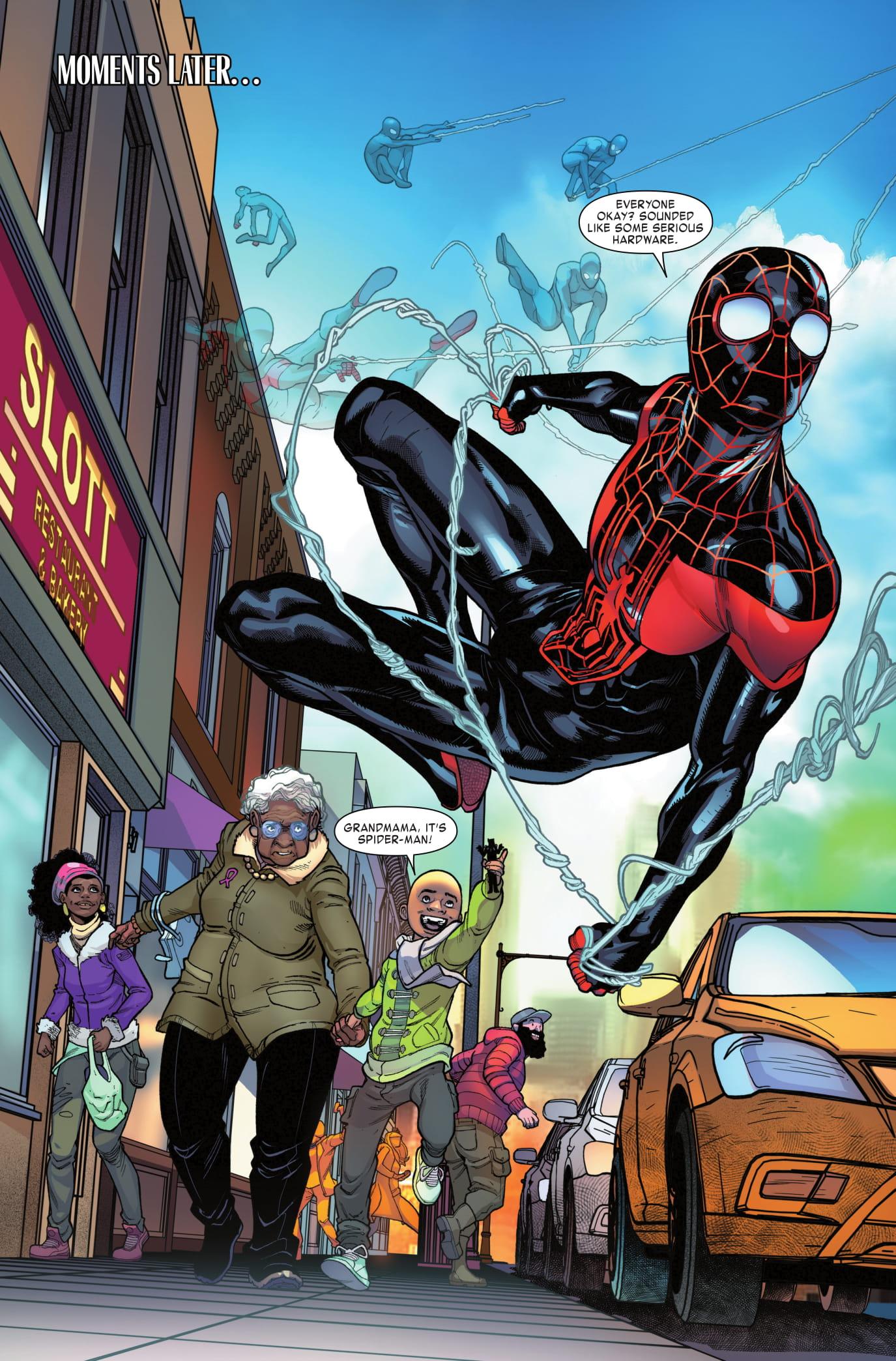 Miles Morales: Spider-Man #5 page 3