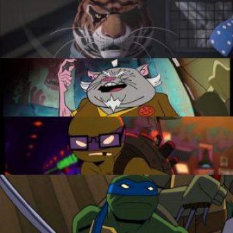 Batman vs. TMNT Eric Bauza