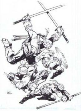 Batman vs. TMNT Andy Kuhn