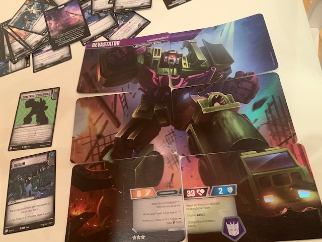 Transformers TCG Devastator