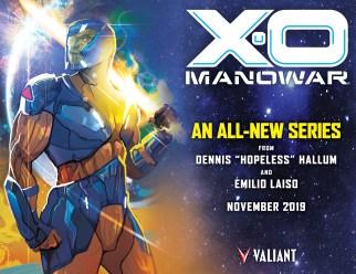 X-O Manowar Creative Team