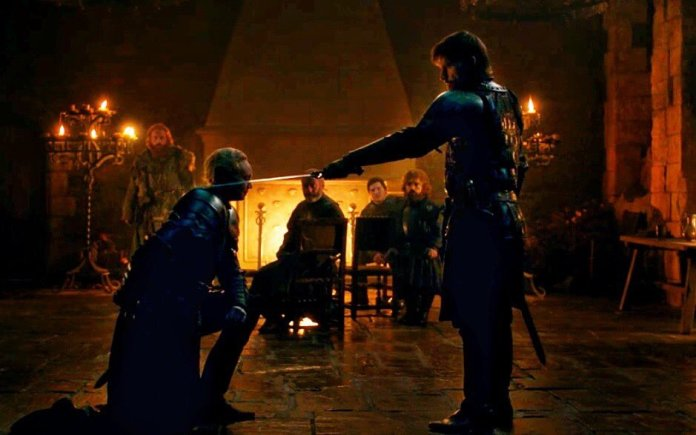 Jamie Lannister Knights Brienne of Tarth Game of Thrones Season 8 Knight of the Seven Kingdoms