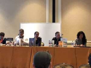 Comics: the Ninth Art panel at NCS Fest with Max De Radigues