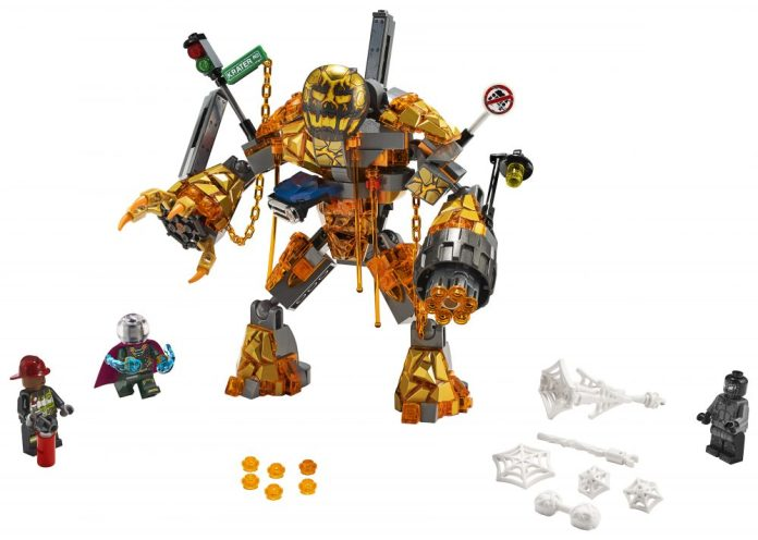 Lego Spider-Man: Far From Home Molten Man Mysterio Spider-Man